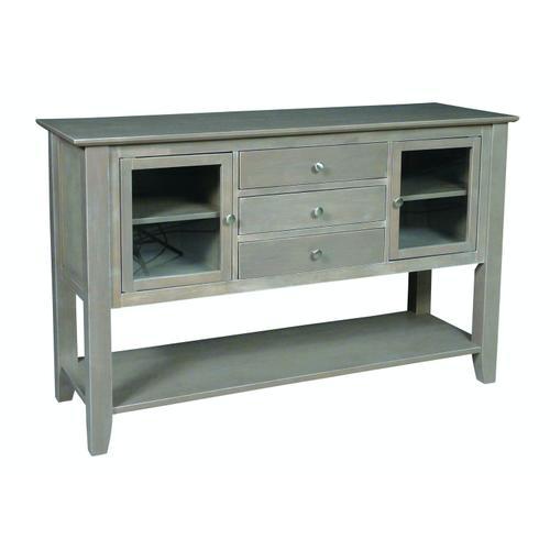 John Thomas Furniture - Server in Taupe Gray