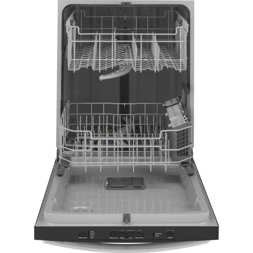 GE® Top Control with Plastic Interior Dishwasher with Sanitize Cycle & Dry Boost