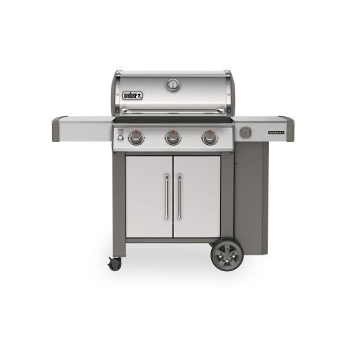View Product - Genesis II S-315 Gas Grill - Stainless Steel LP