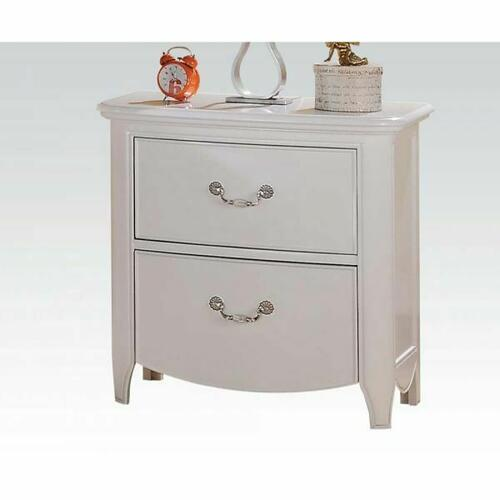 ACME Cecilie Nightstand - 30323 - White