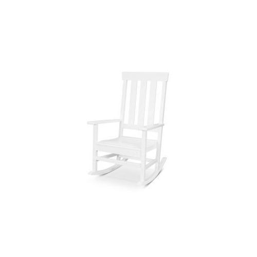 Polywood Furnishings - Prescott Porch Rocking Chair in White