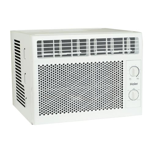 Haier - Haier® 5,050 BTU Mechanical Window Air Conditioner for Small Rooms up to 150 sq. ft.