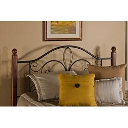 Milwaukee Wood Post Twin Headboard