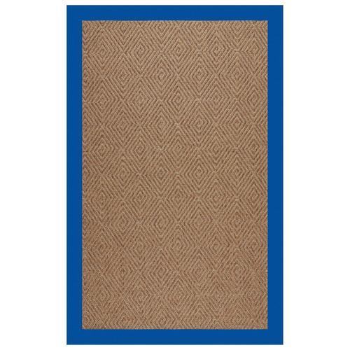 "Capel Rugs - Islamorada-Diamond Canvas Pacific Blue - Rectangle - 24"" x 36"""