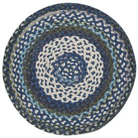 Wanderer Deep Blue Braided Rugs