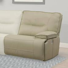 View Product - SPARTACUS - OYSTER Power Right Arm Facing Recliner