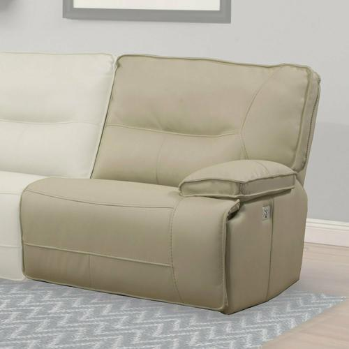 Parker House - SPARTACUS - OYSTER Power Right Arm Facing Recliner
