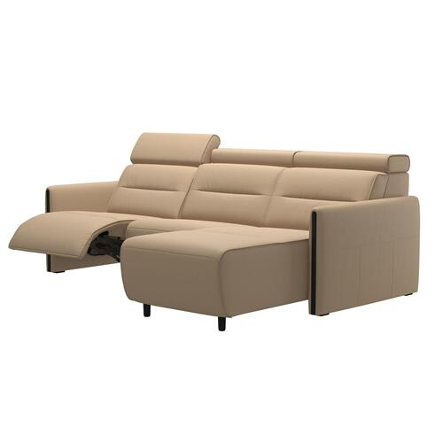 Stressless By Ekornes - Stressless® Emily 2 seater Long Seat with left motor arm wood
