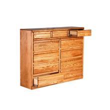 See Details - Forest Designs Bullnose Eleven Drawer Dresser: 60W X 48H X 18D