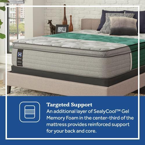 Sealy - Dantley - Euro Pillow Top - Soft - Queen