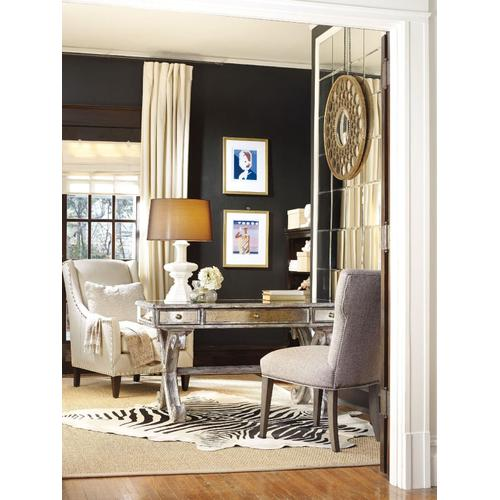 Home Office Mirrored Writing Desk