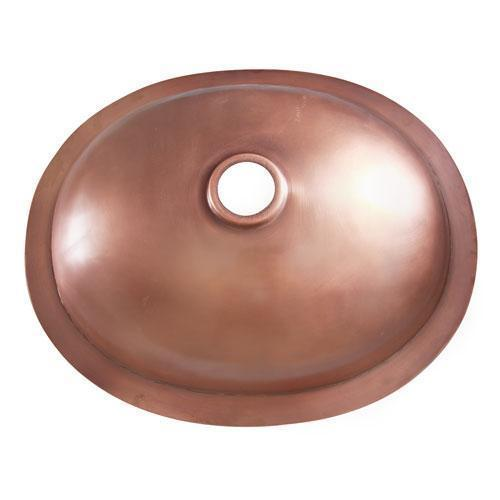 "Finn 19"" Oval Copper Lavatory Bowl"