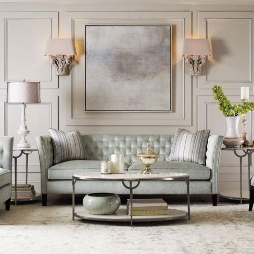 Bernhardt - Morello Oval Metal Cocktail Table