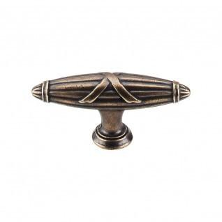 Top Knobs - Ribbon & Reed T-Pull 2 3/4 Inch - German Bronze