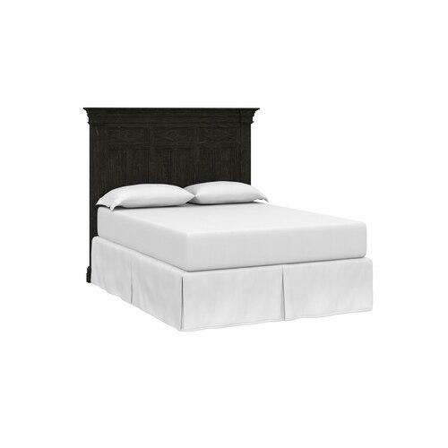 Woodridge Queen Panel Bed, Footboard Low