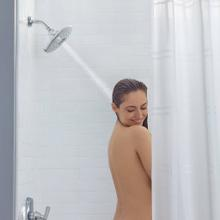 View Product - Spectra Plus Fixed 4-Function Shower Head  American Standard - Brushed Nickel