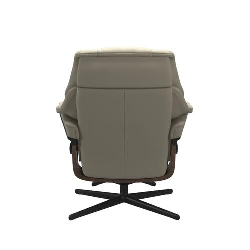Stressless By Ekornes - Stressless® Reno (M) Cross Chair with Ottoman