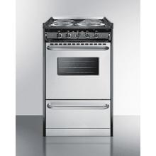 """See Details - 20"""" Wide Electric Coil Range"""