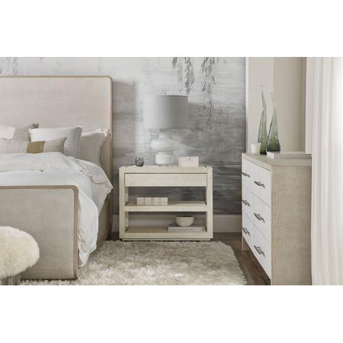 Bedroom Cascade One-Drawer Nightstand