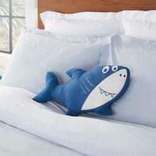 "Plush Cr931 Blue 13"" X 21"" Freeform Pillow"