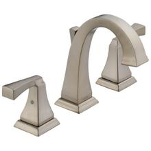 Spotshield Stainless Two Handle Widespread Bathroom Faucet