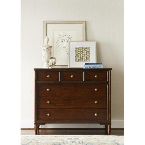 Stanley Furniture - Vintage Media Chest - Vintage Cherry