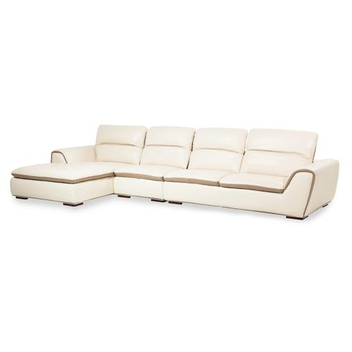 Vanuto Leather 2 PC Sectional Set