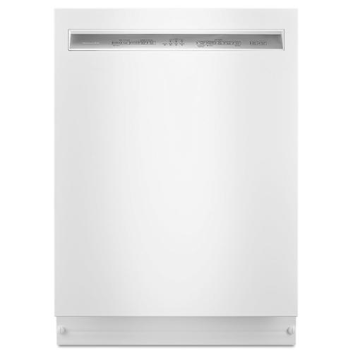 KitchenAid - 46 DBA Dishwasher with ProWash , Front Control White