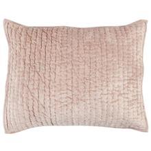 See Details - Bari Velvet Bliss Pink Standard Sham