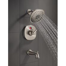 Stainless Tub Spout - Pull-Up Diverter