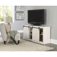 64 Inch Console - White - Distressed Gray, Black, Navy, Pine, Red, \u0026 White Finish
