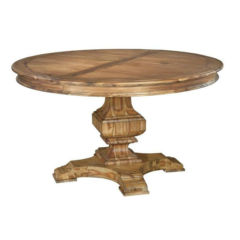 2-3321 Wellington Hall Round Dining Table