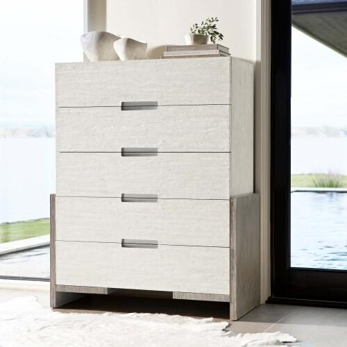 Gallery - Foundations Tall Drawer Chest in Linen (306)