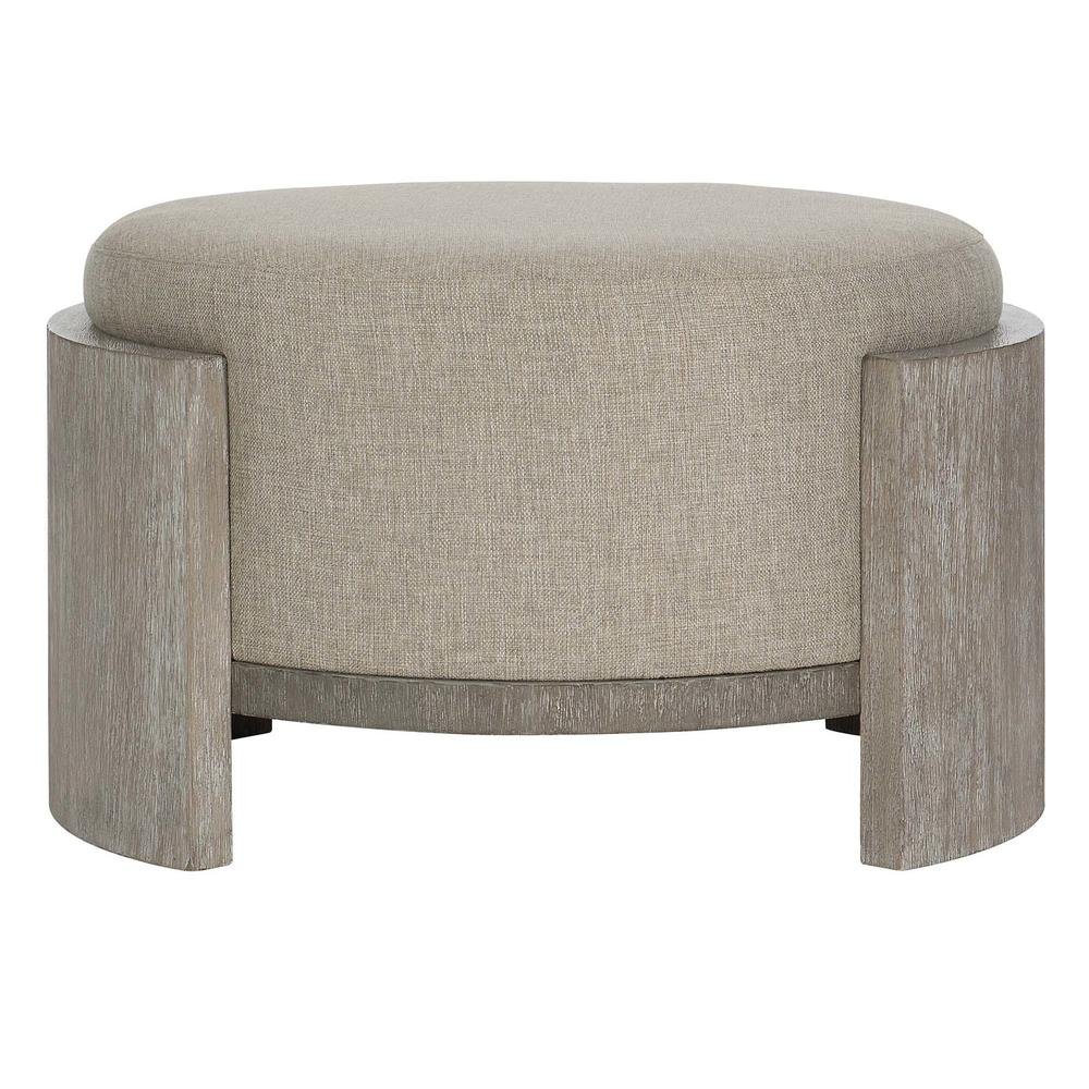 Foundations Cocktail Ottoman in Light Shale (306), Dark Shale (306)