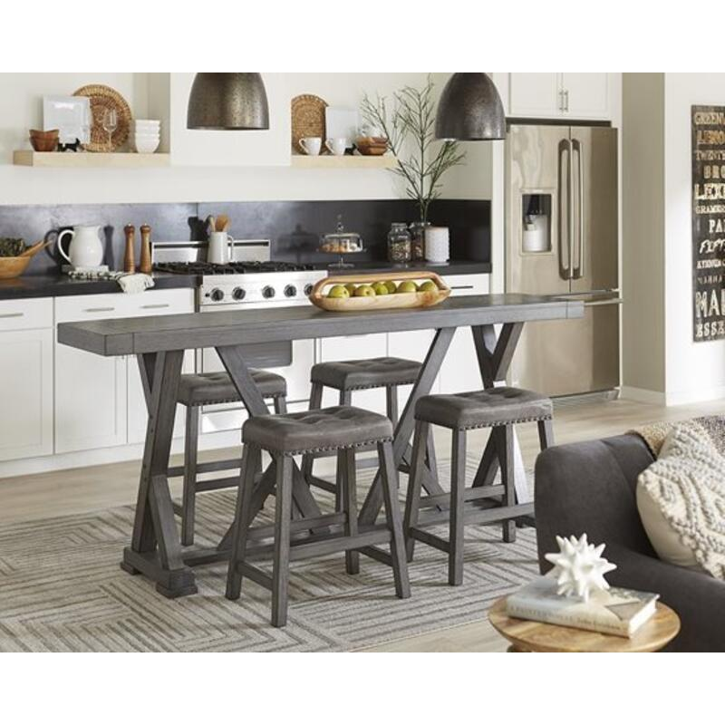 Counter Table - Harbor Gray Finish
