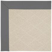 """Creative Concepts-White Wicker Canvas Charcoal - Rectangle - 24"""" x 36"""""""