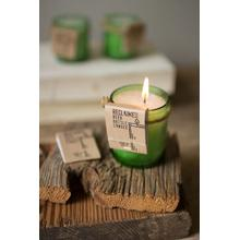 View Product - recycled green glass beer bottle candle