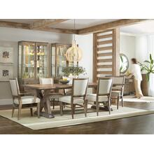 View Product - Studio 7H Geo Trestle Dining Table