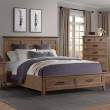 See Details - Alta King Storage Bed  Harvest