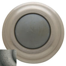 View Product - Distressed Antique Nickel Wall Flush Bumper
