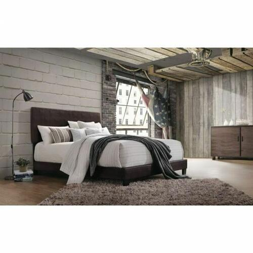 ACME Lien Queen Bed - 25750Q - Espresso PU