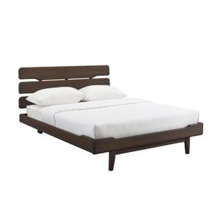 See Details - Currant California King Platform Bed, Oiled Walnut