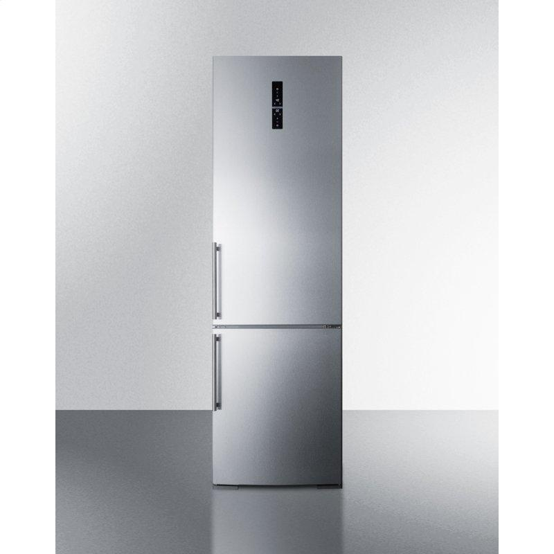 "24"" Wide Built-in Bottom Freezer Refrigerator With Icemaker"