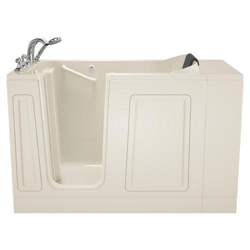 American Standard - Acyrlic Luxury Series 30x51 Walk-in Tub Left Drain  American Standard - Linen