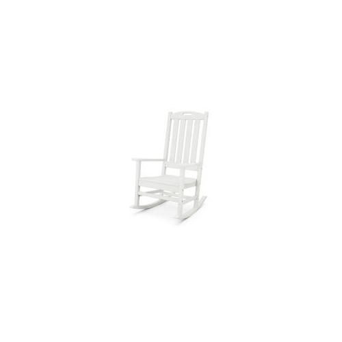 Polywood Furnishings - Nautical Porch Rocking Chair in Vintage White
