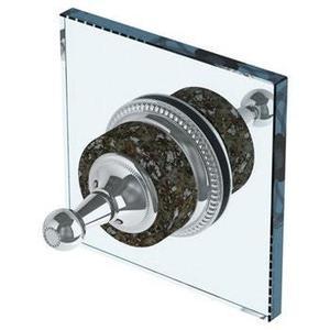 Venetian Double Shower Door Knob/ Glass Mount Hook Product Image