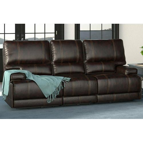 WHITMAN - VERONA COFFEE - Powered By FreeMotion Power Cordless Sofa