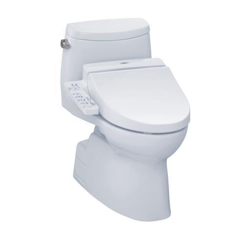 Carlyle® II WASHLET®+ C100 One-Piece Toilet - 1.28 GPF - Cotton