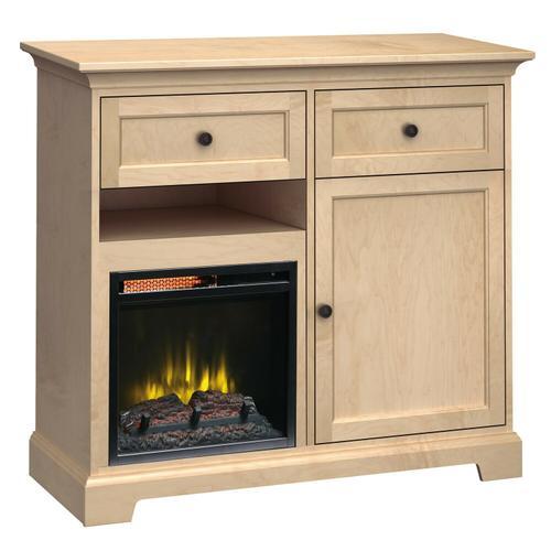 FT46J Extra Tall Fireplace Custom TV Console