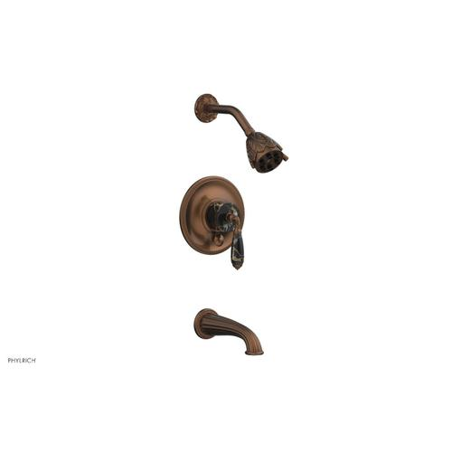 VALENCIA Pressure Balance Tub and Shower Set PB2338C - Antique Copper